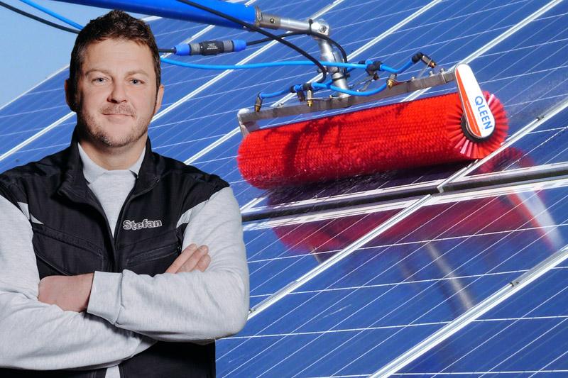 Neissendorfer Photovoltaik Bürsten Reinigung