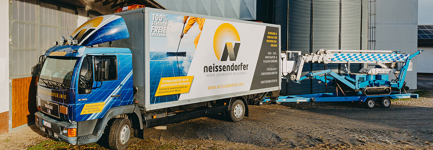 Neissendorfer LKW und Arbeitsbühne