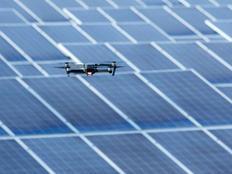Neissendorfer, Drohne, Rehkitzrettung Photovoltaik-Inspektion